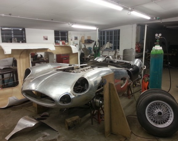 ASTON MARTIN DBR1 FRONT END IN PROGRESS